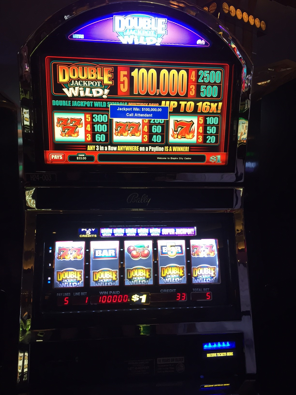 Roulette touch screen gaming machines