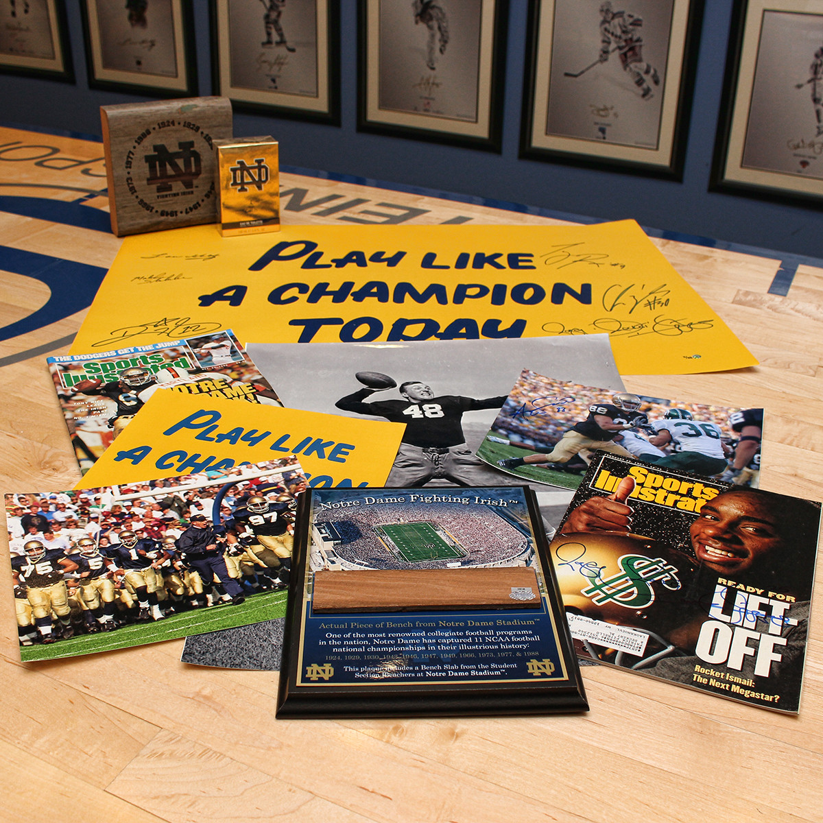 Notre Dame Ultimate Fan Gift Guide Think Inside The Box